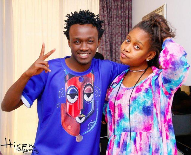 Bahati and Jokate Mwagelo