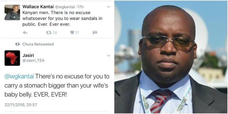 NTV's business editor Mr. Wallace Kantai