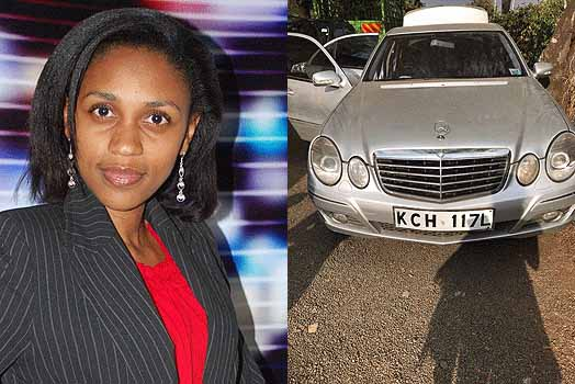 Doreen Mbiira Stolen Car recovered
