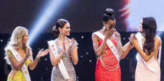 Evelyn Njambi miss world Kenya 2016 Reaches top five 5