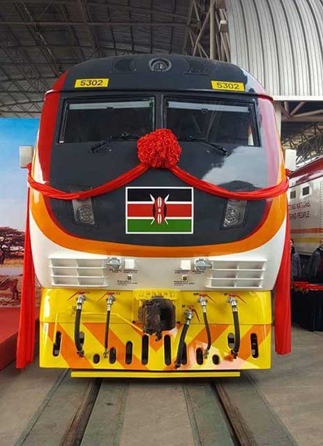 Excusive photos of Locomotives Delivery Ceremony of the Standard Gauge Railway Project SGR Kenya 2