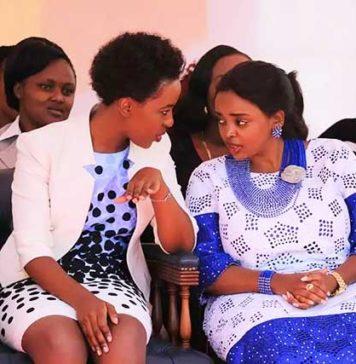 Lilian Nganga and Rev Pastor Lucy Natasha