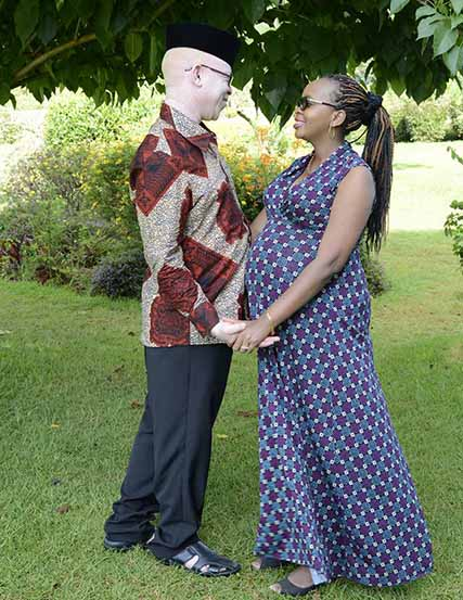MP Isaac Mwaura and his wife Mukami Mwaura