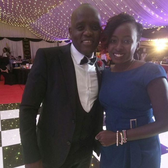 Jacque Maribe and Dennis Itumbi