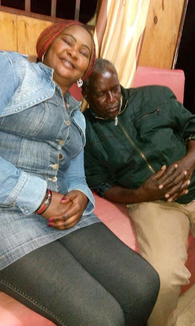 Kalembe Ndile drinking with his lover