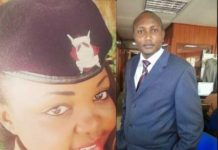 Kendagor Obadiah assaults a female police officer