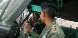 Hot Kenya Air force Pilot Lady
