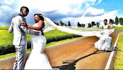 Njugush of Kawanware and Celestine Ndinda wedding Pictures