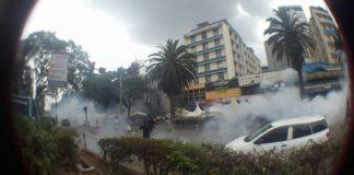 Police Fire Tear Gas at #TakeBackKenya Protesters During Jamhuri Day Celebrations 3