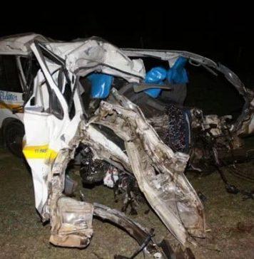 tanker accident December 17th 2016 along Eldoret Nairobi