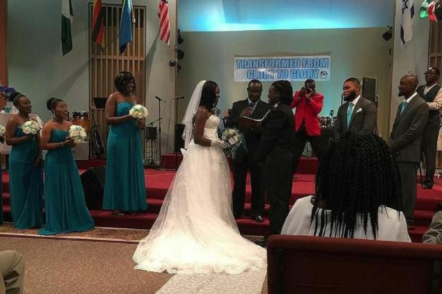 Eunice Njeri wedding in the U.S.A
