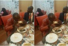 Kalembe Ndile eating like a pig