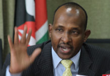 Aden Duale at CID HQ