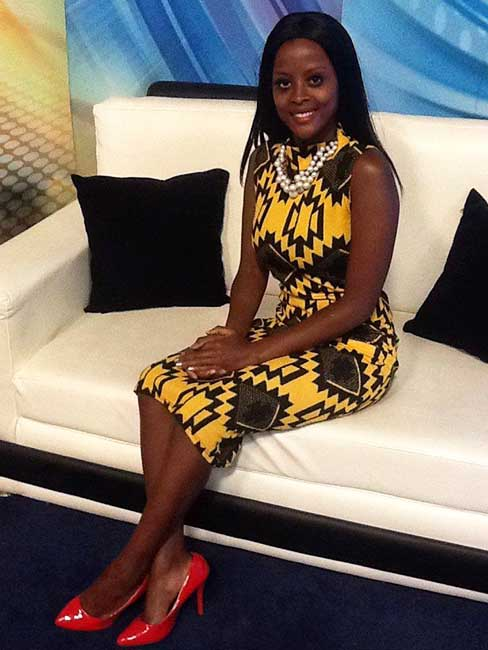 Rose Karee Gakuo KBC News Anchor