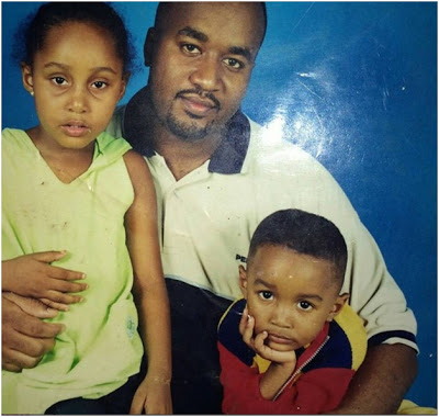Hassan Joho and his kids