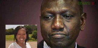 DP Ruto and Prisca Chemutai Bett
