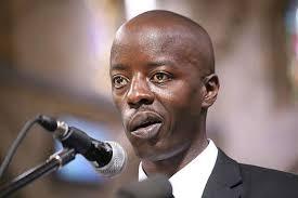 Raila Junior twisted mouth