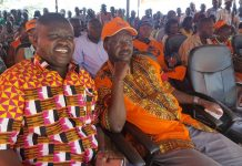 Raila in Turkana
