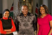 Citizen TV Lulu Hassan & Kanze Dena interview with President Uhuru Kenyatta at Statehouse Nairobi