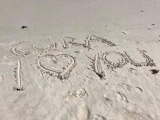 Corazon Kwamboka Beach holiday with Mzungu Boyfriend