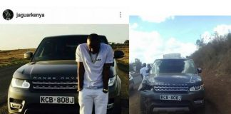 Jaguar Kenya Range Rover Kills 2 pedestrians in accident KCB 808 J