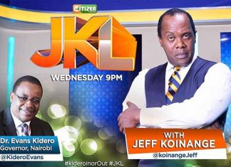 Jeff Koinange 2 million sallary at Citizen TV
