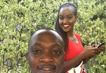 Ken Mijungu and his Beautiful Wife