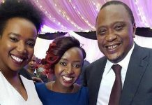 Kirigo Ngarua, Uhuru Kenyatta and Jackie Maribe