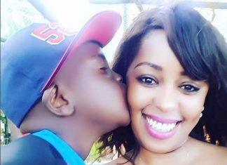 Lilian Muli and Son cute pics