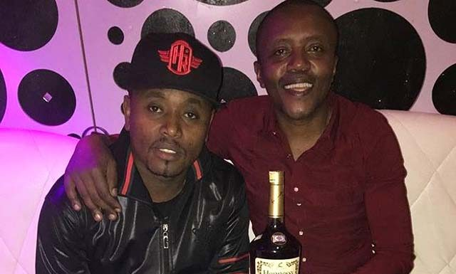 Maina Kageni drinking Ksh 100,000 drink on Ngong road