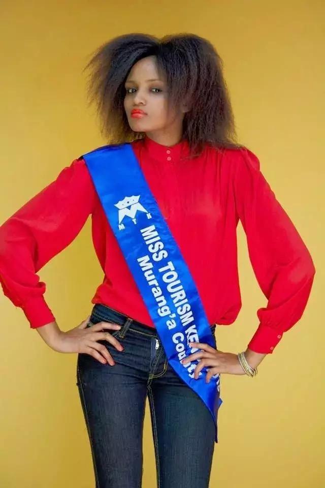 Miss Tourism Murang'a county Lilian Wangui Rukwaro