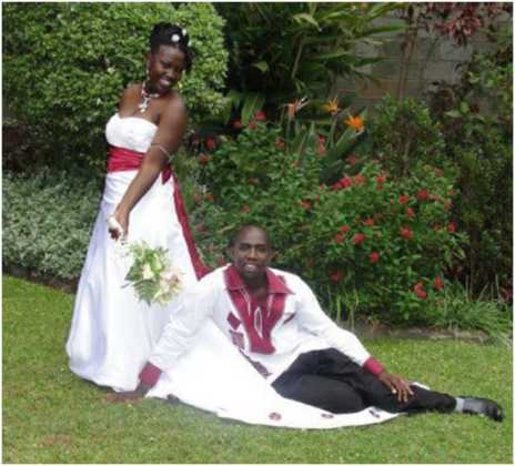Elgeyo Marakwet Senator Kipchumba Murkomen and beautiful wife wedding