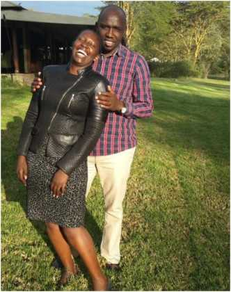 Elgeyo Marakwet Senator Kipchumba Murkomen and beautiful wife