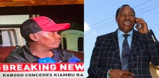 Kabogo concedes defeat to Waititu