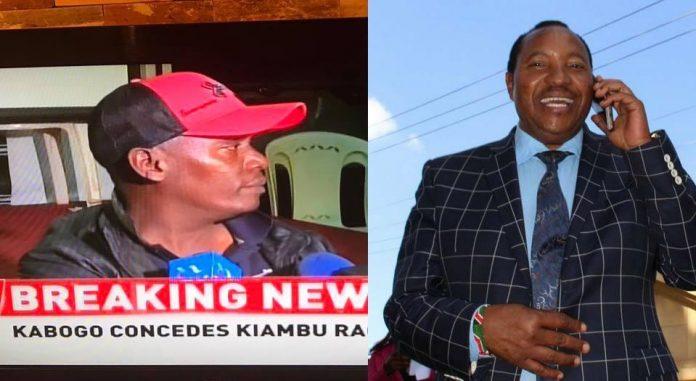 Kabogo concedes defeat to Waititu