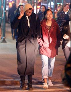 Malia Obama Shows off her new Man 'Boyfriend' in New York Pictures