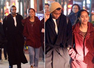 Malia Obama Shows off her new Man 'Boyfriend' in New York