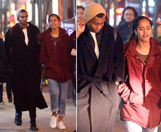 Malia Obama Shows off her new Man 'Boyfriend' in New York
