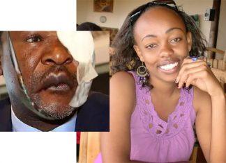 Senator moses Wetangula and Wife Waceke