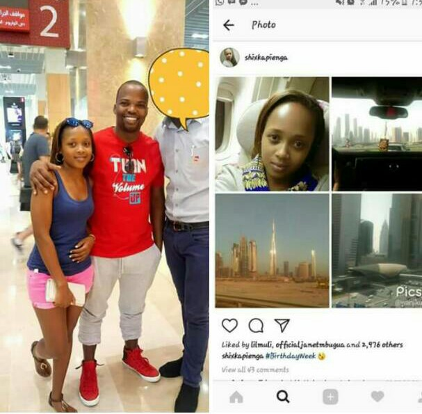 Mc Jesse and Shix Kapyenga dating in Dubai Photos