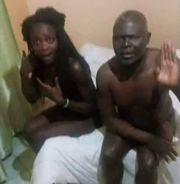 Lady Busted with Sponsor old enough to be her grandfather