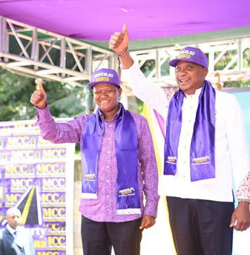 Machakos Governor Alfred Mutua Endorses President Uhuru Kenyatta's re-election in a colorful event
