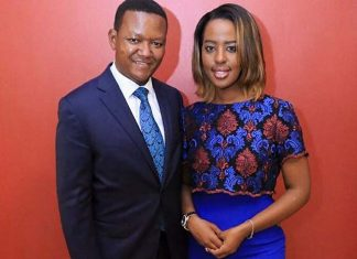 Machakos Governor Alfred Mutua and Wife Lilian Nganga