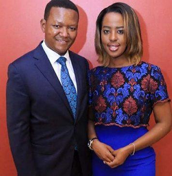 Machakos Governor Alfred Mutua and Wife Lilian Nganga