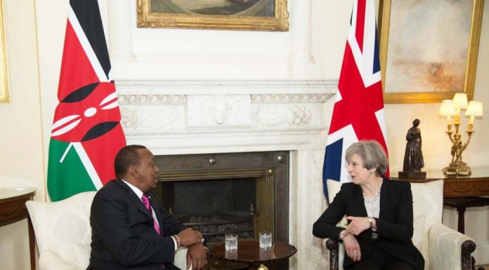 President Kenyatta and UK Prime Minister Teresa May hold landmark talks at Number 10 Downing Street, London