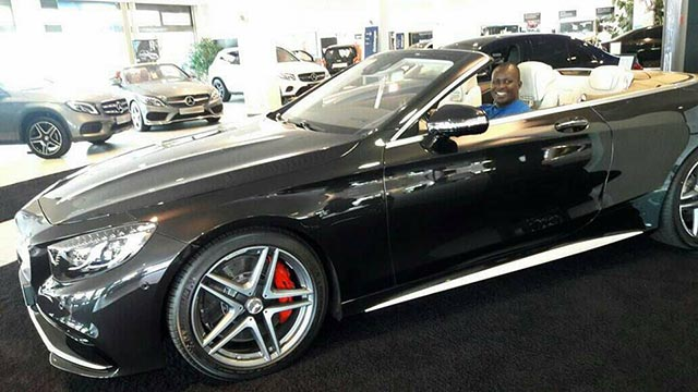 Samuel Abisai Mercedes benz 33 million