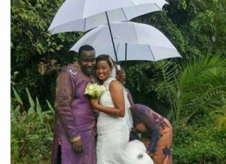 Willis Raburu holds a secret wedding with Mary