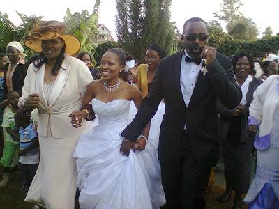 Kambua wedding six years ago in 2012