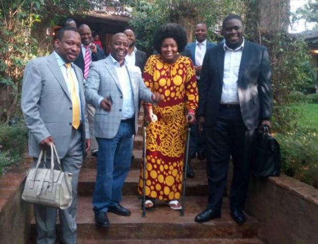 Senator Mike Sonko and Shebesh Pictures