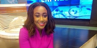 Betty Kyalo Receives Flowers after News from strange man
